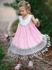 Lace-up Sweet Lady's vest skirt