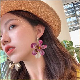 Fashion Earrings Personal Flower Shell Earrings