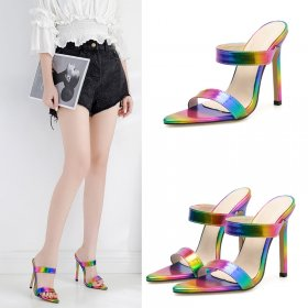 Fantasy High-heeled Outside Sandals and Slippers