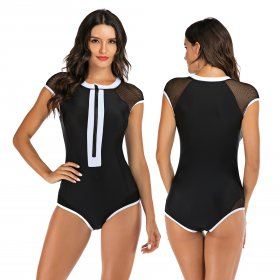 Surfing suit sleeveless swimsuit, hot spring swimsuit and diving suit