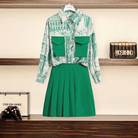 Shirts, fashionable skirt suits