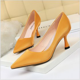 Fashionable Simple Wine Cup, High heel, Shallow Mouth, Sexy Slim Professional OL Women's Shoes and Single Shoes