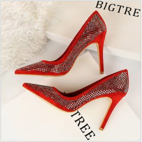Fashionable Sexy Night Shop Slender High-heeled Shoes
