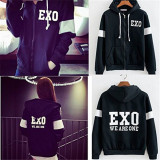 ALLKPOPER Kpop EXO PLANET#3 We Are One Zipper Coat EXO'rDIUM Sweatershirt Baekhyun Outwear