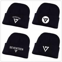 ALLKPOPER Kpop Seventeen 17 Beanie Hat CARAT 17 DINO DK HOSHI JUN Adjustable Knit Cap