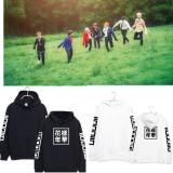 ALLKPOPER K-pop BTS Cap Hoodie Sweater In Bloom Pt2 Hoody Pullover JUNG KOOK Rap Monster