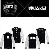 ALLKPOPER KPOP BTS Baseball Uniform Bangtan Boys In Bloom Varsity Jacket Coat Outwear