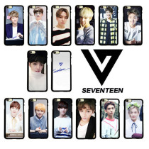 ALLKPOPER KPOP Seventeen 17 Cellphone Case Iphone 6s Plus VERNON Mobile Phone Shell Cover