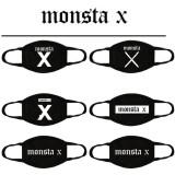 ALLKPOPER Kpop MONSTA X Mask Cotton Winter Mouth I.M Face Muffle Mouth-muffle Antidust
