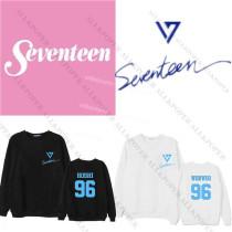 Kpop Merchandise Seventeen Sweater Sweater Shining Diamonds Sweatershirt Hoodie Woozi Pullover DINO