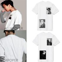 Kpop Bigbang Tshirt GD T-shirt Unisex Tee G-Dragon Cotton Top DAESUNG SEUNGHYUN