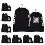 ALLKPOPER KPOP BTS Zipper Hoodie In Bloom Sweater Bangtan Boys Sweatershirt Coat Outwear