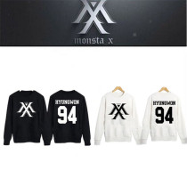 ALLKPOPER Kpop MONSTA X Sweater I.M Unisex Pullover Hoodie Jumper WONHO Cotton Outwear