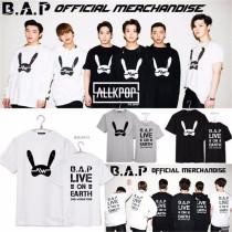 ALLKPOPER Kpop B.A.P T-shirt BAP LIVE ON EARTH Matoki Tee Unisex Tshirt Yong Guk ZELO