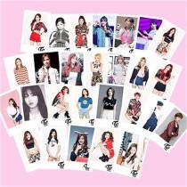 ALLKPOPER Kpop TWICE 30PCS LOMO Card + BOX Postcard Photocard Sana DaHyun Tzuyu Momo Mina