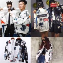 KPOP  Merchandise Bigbang G-Dragon Varsity Jacket Baseball Uniform GD Made Loser MV Coat