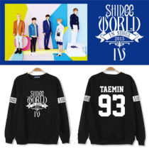 ALLKPOPER KPOP SHINee World IV  In Seoul Sweater Min Ho Unisex Pullover ONew Sweatershirts