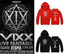 Kpop VIXX Cap Hoodie Sweater Unisex Sweatershirt Pullover Leo Ravi Ken