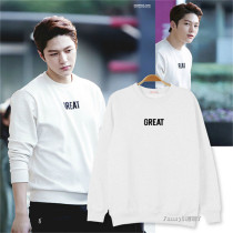ALLKPOPER Kpop Infinite Sweater Unisex L Same Style Long Sleeve Fashion Spring Pullover