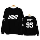 KPOP IKON Sweatershirt Welcome Back Sweater JINHWAN B.I Hoodie Unisex Pullover Bobby Jun Hoe