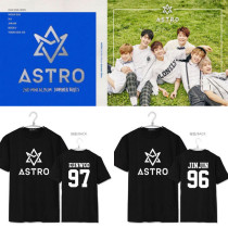 ALLKPOPER KPOP ASTRO Summer Vibes 2nd Mini Album T-SHIRT Unisex SANHA Tshirt Short Sleeve