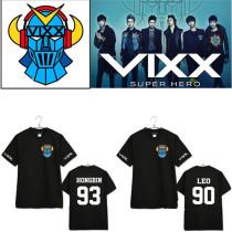 Kpop Merchandise VIXX T-shirt Tee V.I.X.X Tshirt Unisex N LEO RAVI HONGBIN HYUK KEN Tops