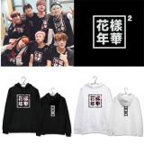 ALLKPOPER Kpop BTS Cap Hoodie In Bloom Sweater Unisex Jung kook Jimin JHope V SUGA Sakura