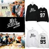 ALLKPOPER Kpop BTS Fire Cap Hoodie Young Forever Sweatershirt Bangtan Boys Sweater