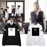 ALLKPOPER Kpop BTS Cap Hoodie Sweater Bangtan Boys Unisex Jung Kook Coat Jacket Outwear