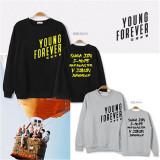 ALLKPOPER KPOP BTS Sweater Unisex Young Forever Jung Kook Hoodie Bangtan Boys Pullover V