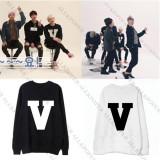 ALLKPOPER Kpop BTS V Sweater Bangtan Boys Unisex Jungkook Hoodie New Pullover Long Sleeve