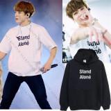 ALLKPOPER KPOP BTS Jung Kook Cap Hoodie Sweater Unisex Bangtan Boys Sweatershirt Outwear