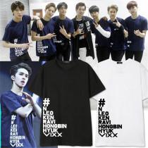 ALLKPOPER KPOP VIXX LIVE SHOW Tshirt V.I.X.X.Unisex New T-shirt Tee N LEO KEN RAVI Cotton