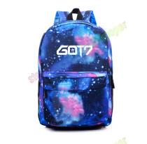 ALLKPOPER KPOP GOT7 SchoolbagStarry Sky Backpack Satchel