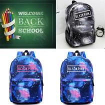 ALLKPOPER Kpop Blackpink Backpack Schoolbag Book Bag Satchel JISOO Rosé LISA