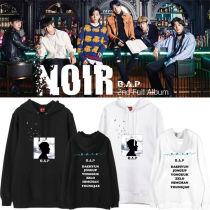 ALLKPOPER KPOP BAP B.A.P 2nd Full Album NOIR Cap Hoodie Sweater Unisex Sweatershirt Hoodie