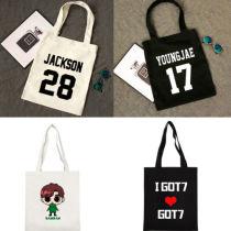 ALLKPOPER KPOP GOT7 Handbag Fly Concert Bookbag Jackson Shoulderbag JB Bag Mark School Bag