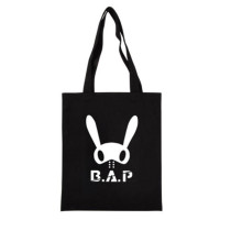 ALLKPOPER KPOP BAP Handbag B.A.P Rabbit HimChan  DaeHyun YoungJae Shoulderbag Bookbag Bag