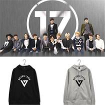 ALLKPOPER Kpop Seventeen Cap Hoodie Sweater 17 Sweatershirt Unisex VERNON HOSHI Pullover