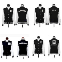 ALLKPOPER KPOP Baseball Uniform Bigbang SJ SNSD Girls' Generation Lee Varsity Jacket Coat