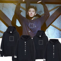 ALLKPOPER Kpop Monsta x Cap Hoodie Sweater Unisex Jooheon First Live X Clan Sweatershirt