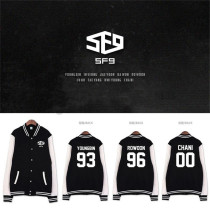 ALLKPOPER KPOP SF9 Feeling Sensation Baseball Uniform Unisex Varsity Jacket CHANI Coat