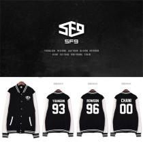 ALLKPOPER KPOP SF9 Feeling Sensation Baseball Uniform Unisex Varsity Jacket CHANI Coat
