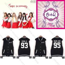 ALLKPOPER Kpop Apink Baseball Uniform A Pink Jacket Outwear [MYMY] Coat Unisex BoMi EunJi
