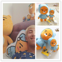 ALLKPOPER Kpop BTS Rap Monster Kakao Friends Ryan Plush Toy Doll Christmas Gift Bangtan Boys