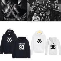 ALLKPOPER Kpop MONSTA X Cap Hoodie Sweater Sweatershirt HYUNGWO Unisex JOOHEON SHOWNU Coat
