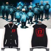 ALLKPOPER KPOP GOING Seventeen Baseball Uniform 17 DINO Varsity Jacket Unisex WOOZI Coat
