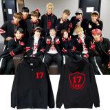 ALLKPOPER KPOP GOING Seventeen 17 Zipper Hoodie WONWOO Sweatershirt JOSHUA JUN Coat Jacket