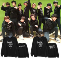 ALLKPOPER KPOP SEVENTEEN Sweatershirt Sweater Woozi Hoodie Wonwoo JOSHUA Pullover