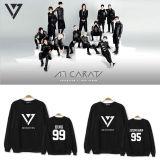 ALLKPOPER Kpop Seventeen CARAT Sweater  Vernon HoodieUnisex Vernon Pullover Sweatershirt